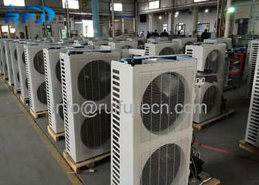 Chiny CE Approval Air Cooled Condenser Unit 380V / 220V Medium Temperature dystrybutor