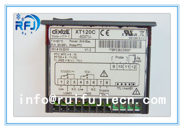 Chiny Black Dixell Thermostatic Controller , Digital Temperature Controller Dual output thermostat XT120C dystrybutor